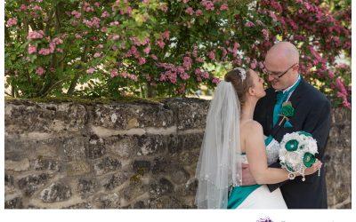 Selina and Ally married in Loose {sneak peek}