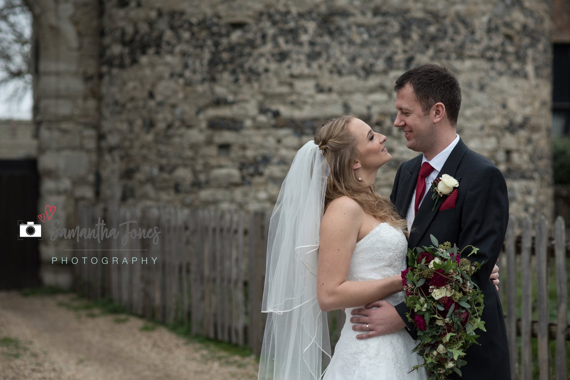 Wedding at Cooling Castle Barn
