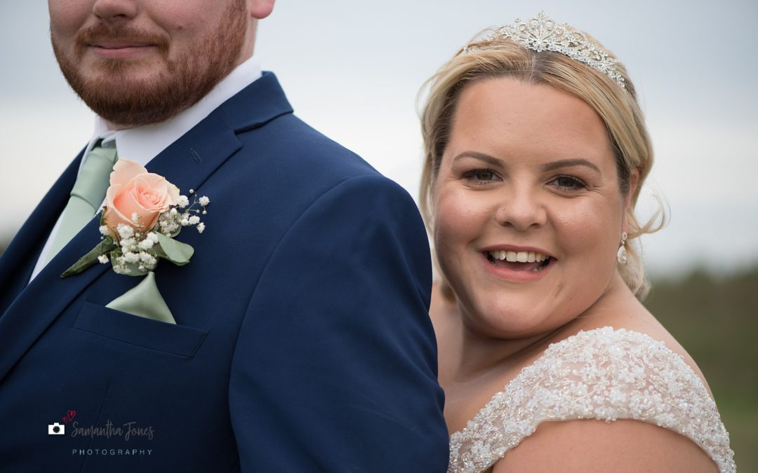 Jade and Luke's twilight wedding at Stonelees Golf Centre {their story in pictures}