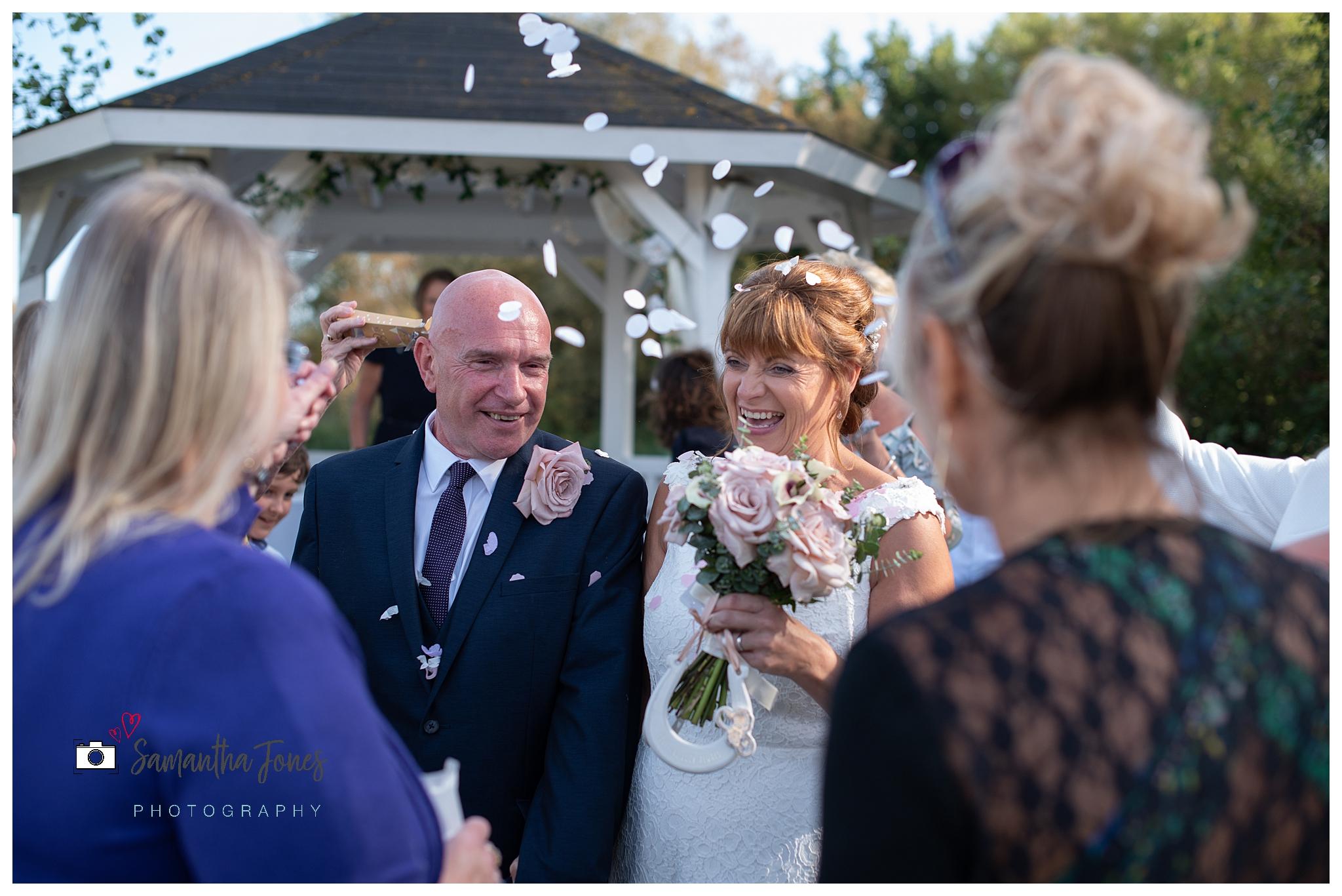 wedding at Stonelees Kent