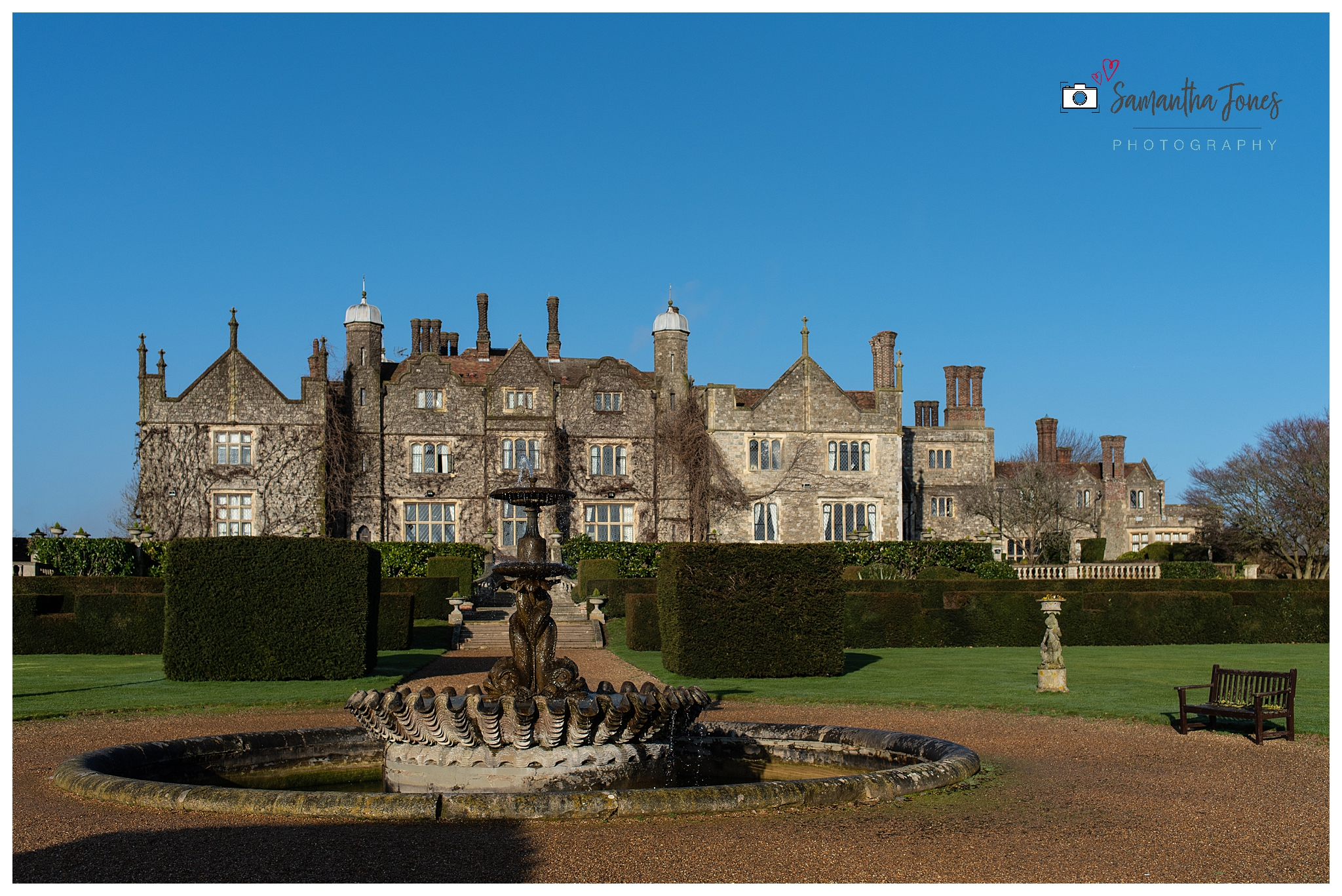 December wedding at Eastwell Manor