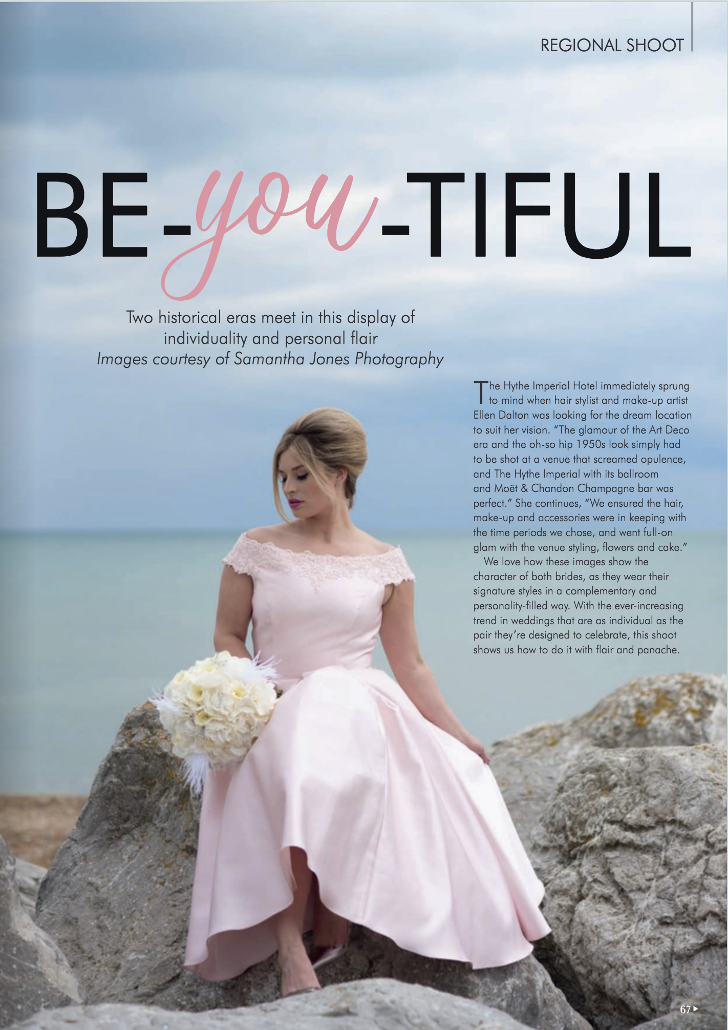 published magazine feature at Hythe Imperial Hotel in Kent
