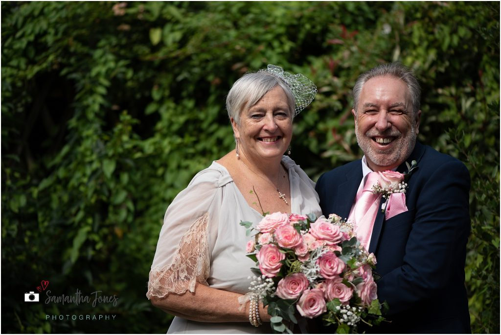 happy bride and groom wedding Kent 2020