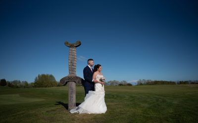 Emma and Aaron – their beautiful twilight wedding in April {the full story}