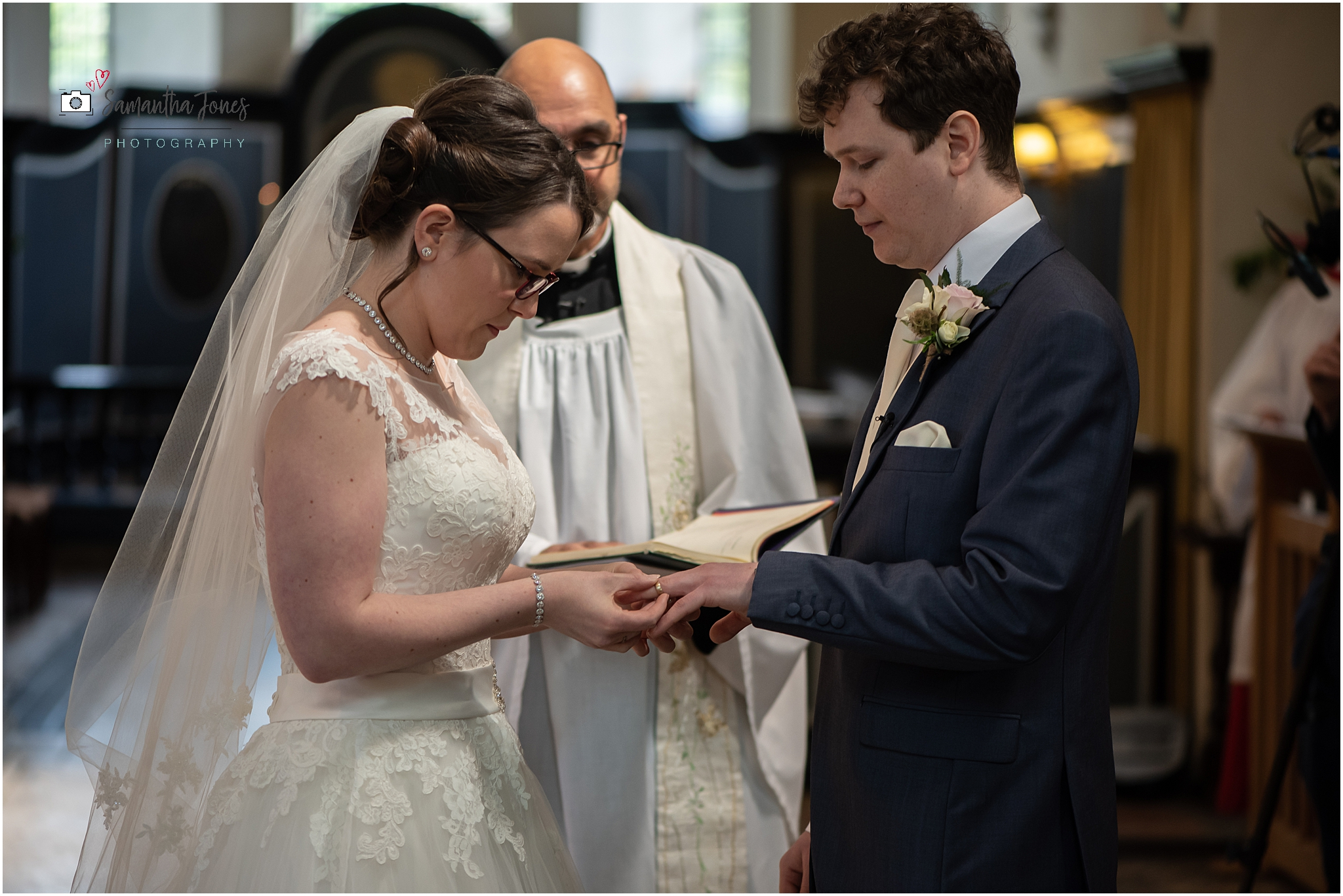 exchanging of rings in church