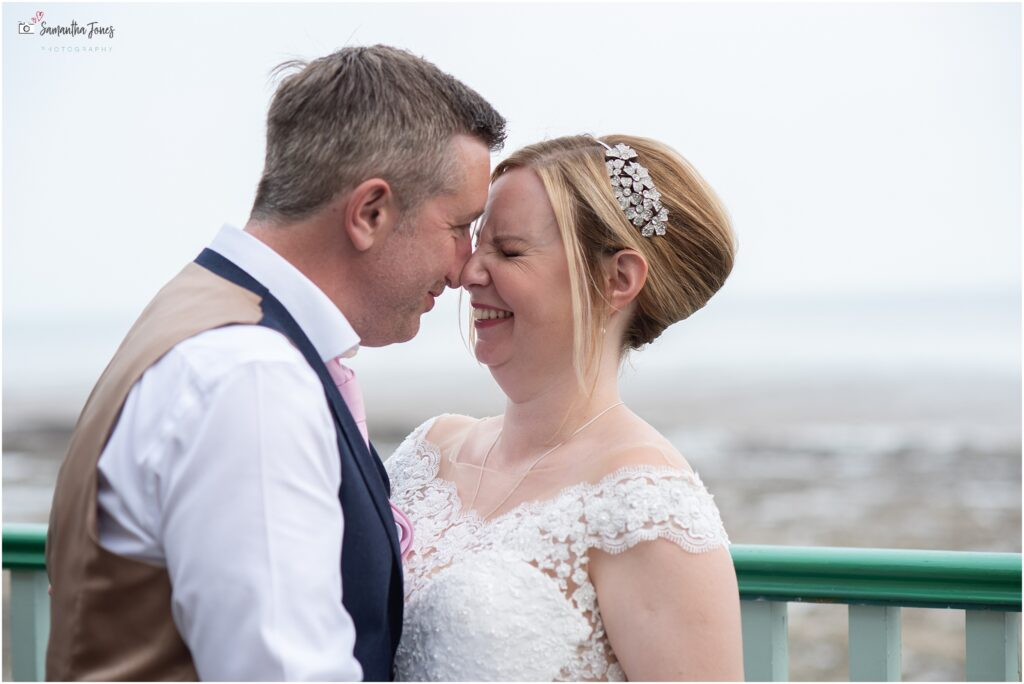 Jen and Peter wedding at Pegwell Bay Hotel
