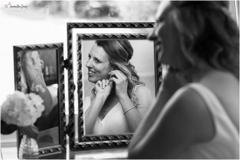 bridal preparations at Mount Ephraim