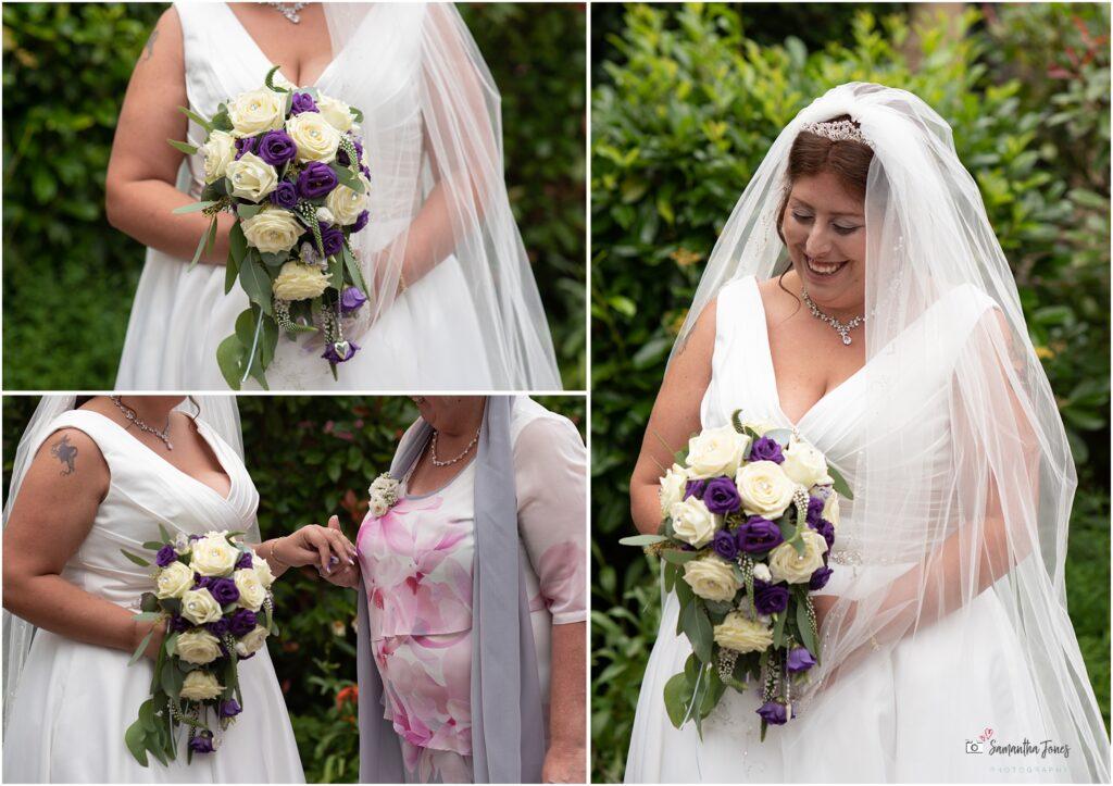 Hayley bridal portraits