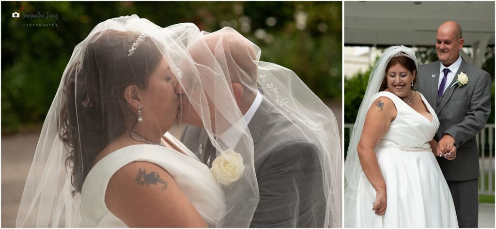 Hayley and Paul's wedding at St Augustine's